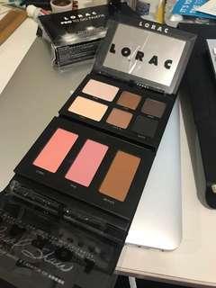 Unused LORAC pro eye face palette