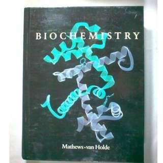 Biochemistry by Christopher Mathews, K.E. Van Holde