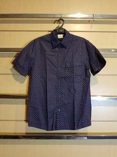 XSML Navy Dot Shirt