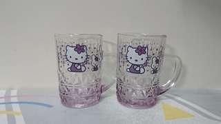 Hello Kitty 玻璃杯