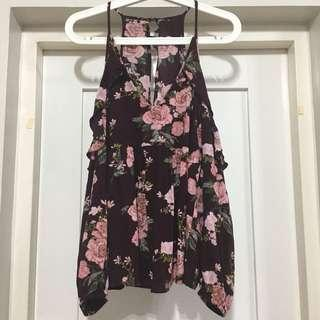 American Eagle Outfitters cold shoulder