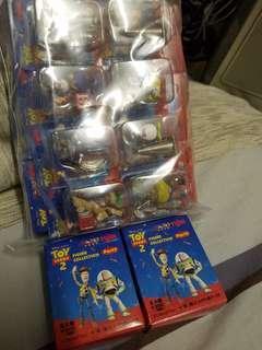 全新原裝日版 yujin minibIi toy story反斗奇兵part 2 盒蛋 全8種Set