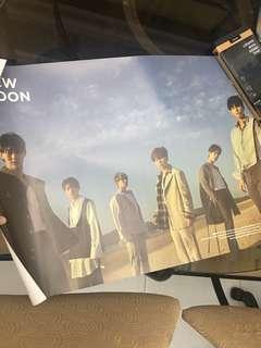 Instock Official JBJ new moon group poster