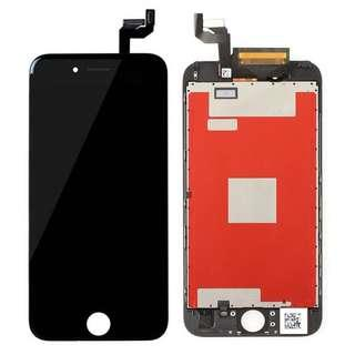 Screen outer glass / digitizer - iphone 6s (BLACK)
