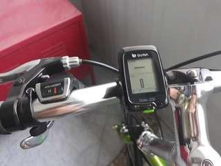 Bryton 200 Bicycle GPS (Head unit with mounting, manual & usb cable only)