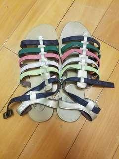 歐美品牌女裝鞋 女裝涼鞋 彩色女裝涼鞋 women sandals