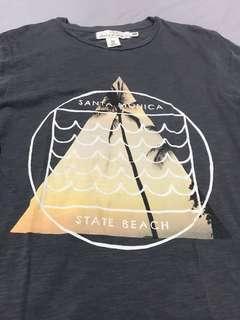 H&M Printed T-Shirt (XS)
