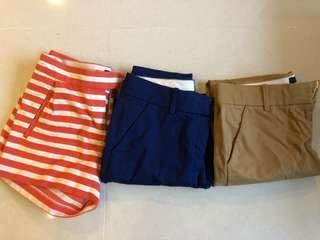 Jcrew Cropped Pants & Shorts