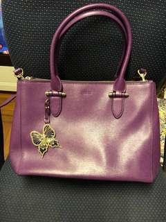 Anna Sui calf leather bag 牛皮手袋
