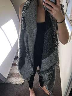 Cotton on thick knit scarf