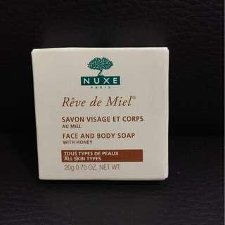 NUXE - FACE and BODY SOAP with HONEY 蜜糖  番梘, 肥皂
