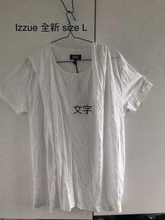 IZZUE 白色圍衣(有帽)