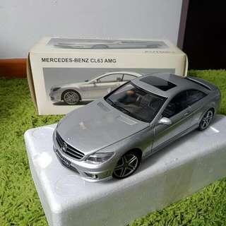 Autoart Mercedes-Benz CL63 AMG1:18. Colour Iridium Silver