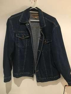 True vintage dark denim jacket