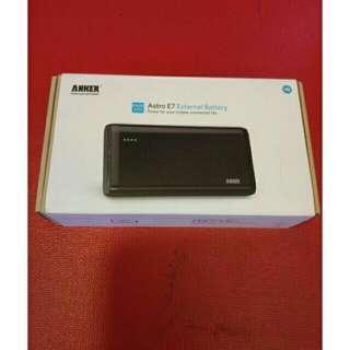 🚚 💯正品現貨🔥🔥:ANKER Astro E7 25600mah 行動電源 黑色