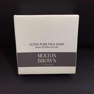 [全新正貨]英國名牌Molton Brown Ultra Pure Milk Soap 牛奶香皂  50g