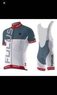 Youth or Ladies Cycling jersey and bibs set