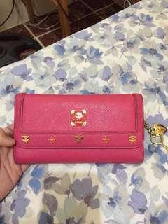 Authentic MCM long wallet