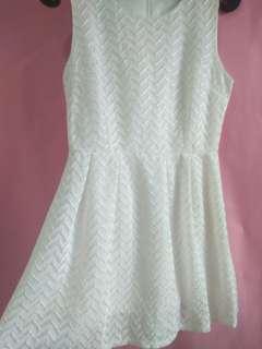 White Top / Mini dress