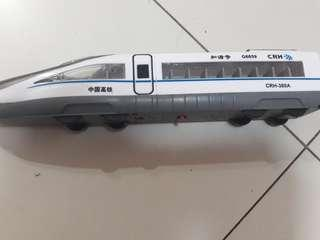 Bullet train toy
