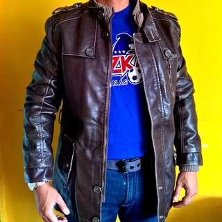 Soft Rugged Urban Wear Leather Jacket