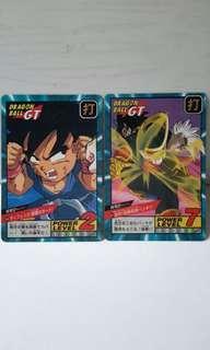 龍珠 GT 兩張卡