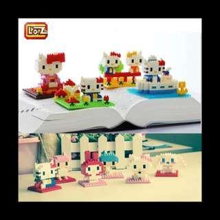 Hello Kitty lego block 小積木 船長場景款