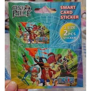 One Piece Smart Card Sticker