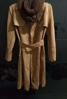 Premium Suede Coat / blazer (new)