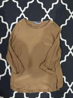 Vero Moda Blouse in Light Brown
