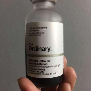ORIGINAL AND AUTHENTIC The Ordinary AHA BHA