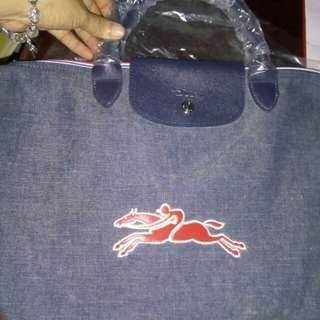Longchamp denim