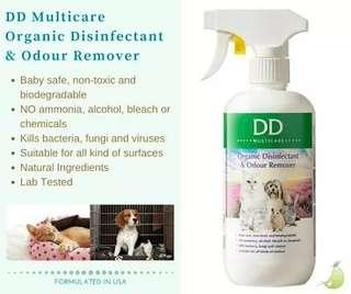 2 x Disinfectant and Odour Remover Spray 500ml
