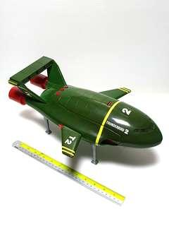 Vintage electronic matchbox Thunderbirds T2 T4 spaceship