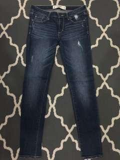 """Abercrombie & Fitch Skinny Jeans (Size 0 or Waist 25-26"""")"""