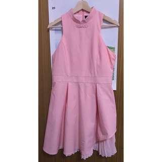 Pink cheongsam qipao dress