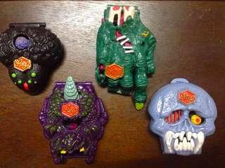Vintage Mighty Max toy lot
