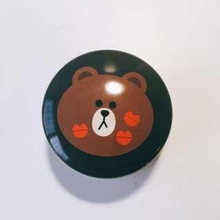 Line Friends 熊大迷你收納罐