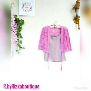Fifa Crop Outer Pink
