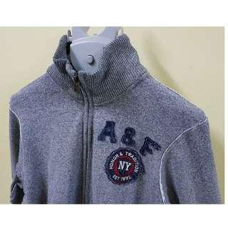 Abercrombie & Fitch A&F Muscle Grey Jacket, M. (Original)