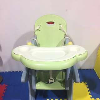 MamaLove 2 In One High Chair And Table Set