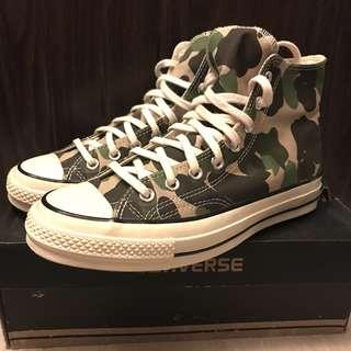 New Camo 迷彩 Converse All Star 70s Chuck Taylor US 8