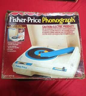 Vintage Fisher price phonograph parts