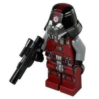 Lego Star Wars Sith Trooper 75001 Minifigure new