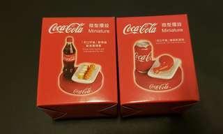 可口可樂微型攞設(兩個)