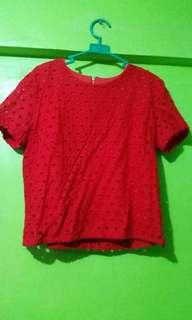 Red BCBL red blouse