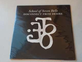 School Of Seven Bells Disconnect From Desire Vinyl LP Original Pressing