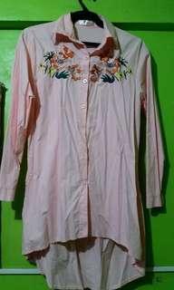 Polo embroidery dress
