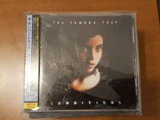 Temper Trap x 2 CDs Conditions ST Japanese pressed
