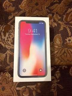 Apple iPhone X (Brand New Sealed NTC)